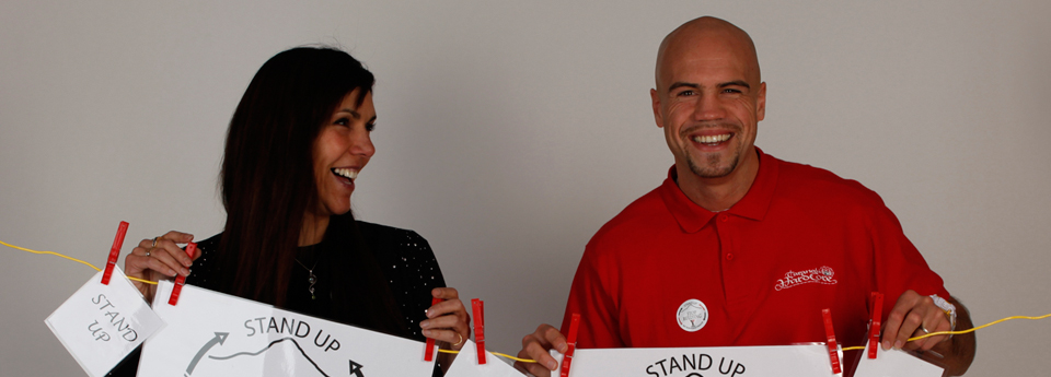 Join Lisa Tamati, Sam Rapira and the YMCA! Stand up be Taranaki proud and Stop Bullying!